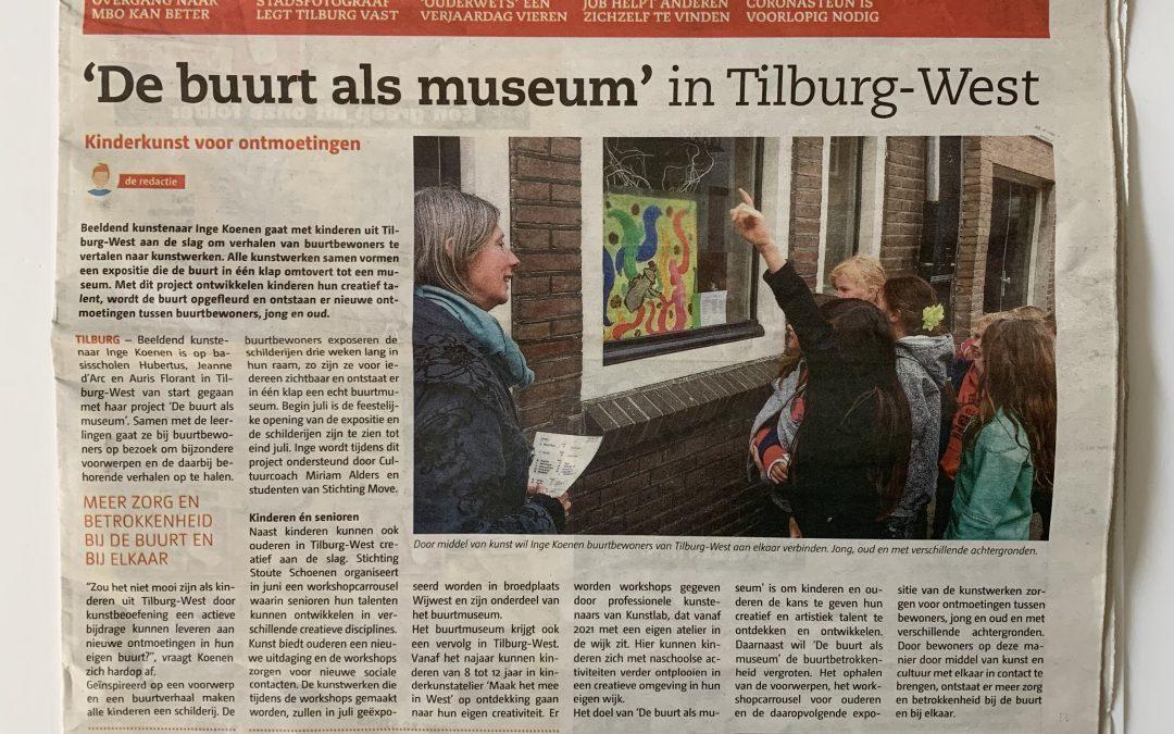 Stoute Schoenen als onderdeel van Buurt als Museum in Tilburg West
